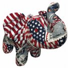 US Post Office Heroes Elephant Plush Tribute First Responders Fire Fighters 911