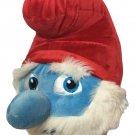"Papa Smurf Plush Lost Village Movie Jakks Stuffed Animal Doll Jumbo Toy 21"""