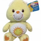 "Care Bears Funshine Bear Plush Teddy Yellow Sunshine Stuffed Animal 8"" TAG"