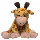 TY Pluffies Towers Giraffe 2004 Orange Brown Plush Stuffed Animal Soft Baby Toy