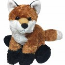 "Aurora Foxxie Red Fox Flopsie Plush Floppy Brown Beanie Stuffed Animal 12"""
