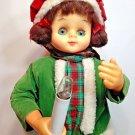 "Vintage Animated Choir Girl Motionette Lighted Christmas Display Figure 24"""
