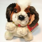 Vintage Beethoven's 2nd Mo Pup Saint Bernard Plush Brown Dog Puppy Toy TAG - 8""