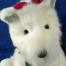 "Commonwealth Scottish Terrier Puppy Dog Plush Toy HUGE White Stuffed Animal 15"""