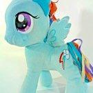 "My Little Pony Blue Princess Rainbow Lightning Bolt Funrise Hasbro Vietnam 10"""