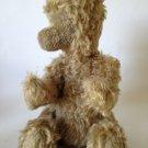 "Vintage Mohair Bear Plush RARE FACELESS TEDDY Jointed Antique Bing Bear ??  15"""