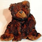 "RARE Petting Zoo Chestnut Brown BUDDY Bear Cub Plush Floppy Stuffed Animal 22"""
