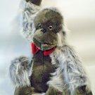 "Silverback Gorilla Plush Orangutan Animal Ape A & B Novelty Vintage 14""  Monkey"