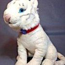 "White Tiger Plush Stuffed Animal Barnum Circus Cat Greatest Show on Earth 12"""