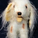 """Dakin Shih Tzu Plush RARE White Tan Wire Hair Terrier Puppy Dog 12"""" Vintage"""
