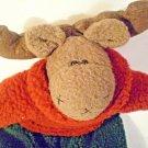 Ganz Plush Moose EX8473  Fleece Stuffed Animal Ultra Rare