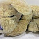 "Cloud B Plush Puppy Dog Lavender Lab Labrador Sleeping Dreamy Retriever 14"""