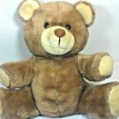 "Dakin Grizzly Bear Plush Teddy 10"" Sitting Brown Stuffed Animal Vintage Toy"