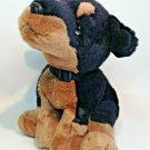 Russ Rottweiler Plush Purebred Puppy Dog Stuffed Animal Bean Bag Series 4387