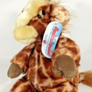 "Animaland GIGI II Giraffe Plush Stuffed Safari Zoo Animal Nanco Toy 15"" - 2007"