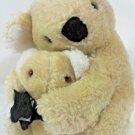 Gerber Koala Bears Plush Vintage Atlanta Novelty Mother & Baby Stuffed Animal