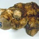Ganz Webkinz Grizzly Bear Stuffed Bean Bag Plush Animal Toy HM187 No Code