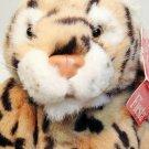 "Fiesta Plush Leopard Cat Stuffed Cheetah Wild Animal Bean Bag Toy 12"" TAG"
