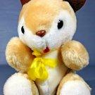"Vintage Gerber Baby Bunny Plush Atlanta Novelty Bean Bag Stuffed Animal 8"""
