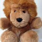 "Gund Lion Roary Plush RARE Brown Stuffed Animal 1979 Korea K-1 Soft Toy 7"""