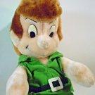 "Disney Peter Pan Plush Doll St. Patrick's Day Green Suit Leprechaun Doll 12"""