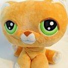 "Littlest Pet Shop Orange Tabby Cat Jumbo Large 15"" Plush Stuffed Toy Hasbro"
