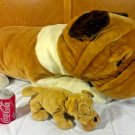 SHAR PEI Plush JUMBO Dog HUGE Giant Stuffed Animal Sharpei Wrinkle Puppy 3 FEET