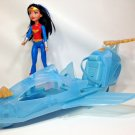 Wonder Woman Action Figure Doll DC Comics Super Hero Girl Invisible Jet (DYN05)