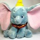 "Disney Store Core Dumbo Plush Stuffed Big Ears Circus Elephant 11"""