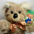 "Koala Bear Soft Plush Teddy Cuddle Wit Creations Beige Stuffed Animal Doll 15"""