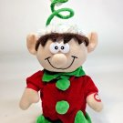 Singing Elf Doll RARE Kids of America Christmas Gnome Stuffed Plush Coiled Hat