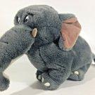 Shep Elephant Disney's George of the Jungle RARE Dark Grey Bean Bag Plush