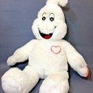Build-A-Bear BOORRIFIC GHOST Halloween BOO Plush Glow-In-The-Dark Heart & Eyes