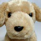 "Bestever Golden Lab Labrador Retriever Puppy Dog Plush Stuffed Animal Tan 6"""