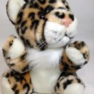 "Circus Circus Plush Baby Leopard Cheetah Spotted Cat Casino Reno Las Vegas 9"""