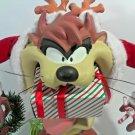 Tasmanian Devil Warner Bros TAZ Looney Tunes Taz Eats Christmas Presents 1996