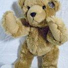 "Knickerbocker Mr.Doodle Teddy Bear Plush #239 RARE 12"" Jointed Tan w/Button"
