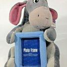 "Eeyore Plush Photo Picture Frame 3x4 Disney Store Pooh Friend Stuffed Animal 10"""
