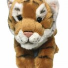 "FAO Schwarz Tiger Plush Baby Cub Stuffed Animal Wild Cat Soft Toy 12"""