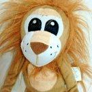 "Idea Nuova Plush Lion Brown Soft Floppy Stuffed Animal Long Legs Embroidered 15"""