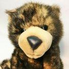"Animal Alley Grizzly Bear Plush Stuffed Animal Cub Sitting Brown Claws 12"""