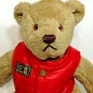 "Vintage 1982 Gund Bialosky Save The Bears Teddy Plush 14"" Stuffed Animal"