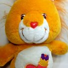 "Brave Heart Lion Plush Care Bears Cousins Orange Stuffed Animal 13"" - 2004"
