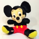 "Vintage Disney MICKEY MOUSE Plush Stuffed Animal Doll Korea 13"""