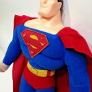 """DC Comics SUPERMAN Man of Steel Plush Doll 2011 Toy Factory Justice League 15"""""""