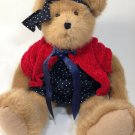 Boyds Bear Heart To Heart Brooke Brown Stuffed Animal Collection Red Heart Paw