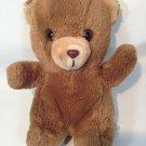 "Vintage Cobbie Cuddlers Teddy Bear Plush Brown Stuffed Animal Korea 9"""