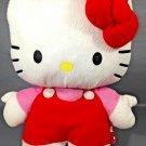 "Hello Kitty BackPack Plush White Stuffed Animal FAB Starpoint Back Pack 13"" Cat"