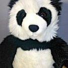 "Build a Bear Plush PANDA Black White Stuffed Animal BABW Toy 15"""