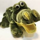 "Jumbo Crocodile Plush ALLIGATOR Puppet Stuffed Animal HUGE 26"" Soft Toy Croc"